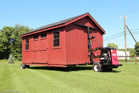 Shed Delivery Service the barn yard s new premier shed delivery service the barn yard great country garages