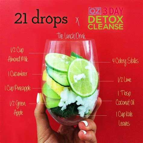 3 Day Detox Drink by Pin By Stowe On Beverages