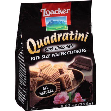 Cookies Bag K 07 Harga 1 Pak 25 Pcs loacker quadratini chocolate bite size wafer cookies