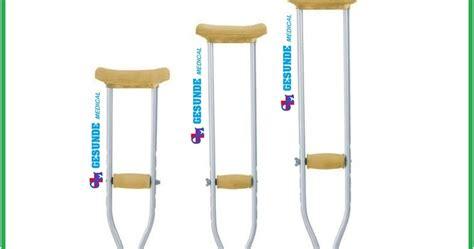 Tongkat Kruk Ketiak Crutch Alat Bantu Jalan Sella Ky925l jual tongkat ketiak alumunium crutch toko medis jual