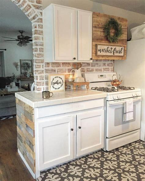best 100 farmhouse kitchen with brick backsplash ideas photos houzz 35 best farmhouse interior ideas and designs for 2018