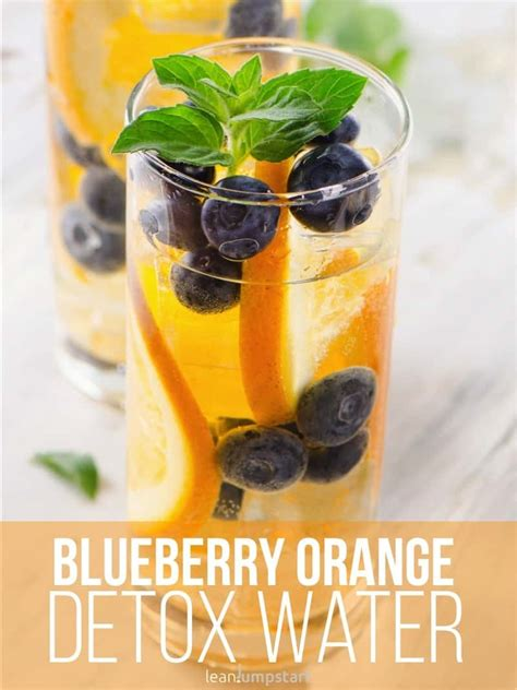Blueberry Detox Water by Detox Water Top 24 Clean Recipes To Boost Your Metabolism