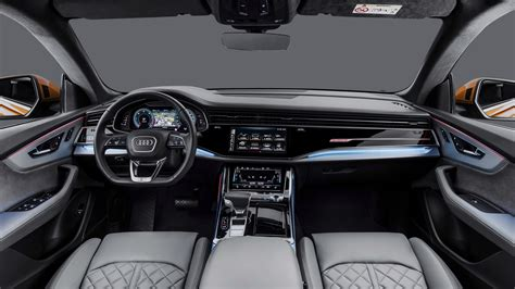 Audi Q8 S Line by 2018 Audi Q8 50 Tdi Quattro S Line 4k Interior Wallpaper