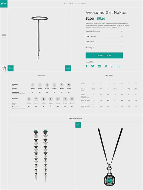 themeforest gem gem creative multipurpose ecommerce psd template by