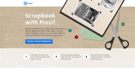 prezi template library a great option the scapbook template http prezi