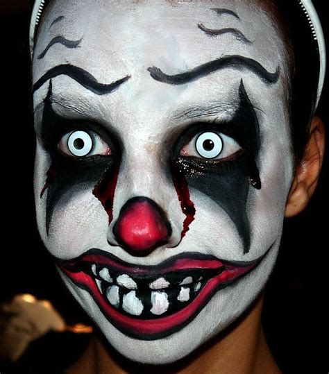 83 Best Images About Scary by 17 Best Ideas About Scary Clown Makeup On