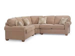 Flexsteel Sectional Sofa Flexsteel Living Room Thornton Sectional 3535 Sect The Sofa Store Towson Glen Burnie And