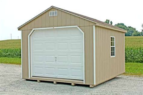 12x10 Garage Door by Darmin 12 X 10 Tanalised Shed