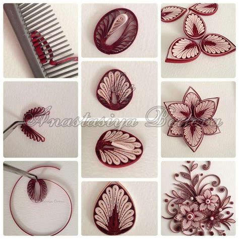 Paper Craft Tutorials Free - 25 best ideas about paper quilling flowers on
