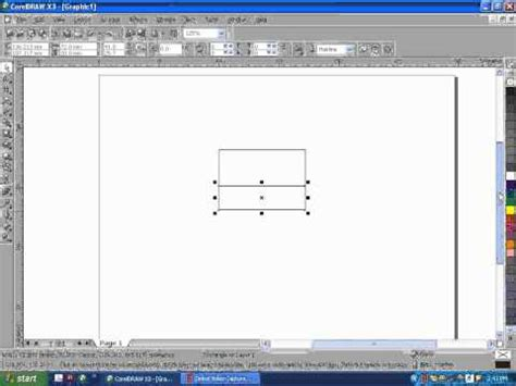 youtube tutorial corel draw x3 coreldraw x3 tutorial youtube