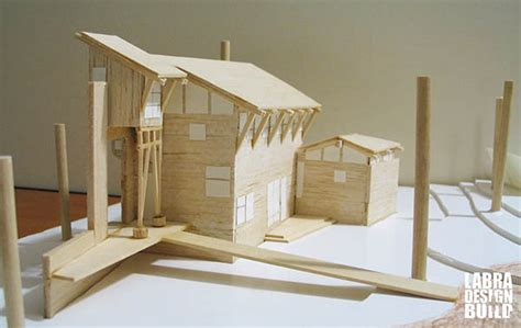 architectural model moore residence labra designbuild
