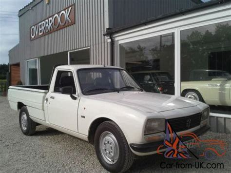 peugeot 504 pickup 1988 peugeot 504 gl pick up the best example for sale must