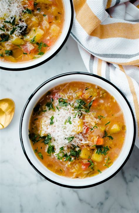vegetarian cooker soup recipes cooker winter vegetable soup with split lentils