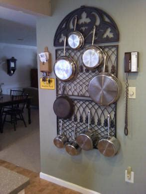 Small Wall Pot Rack Looking For A Wall Pot Rack Cookware Chowhound