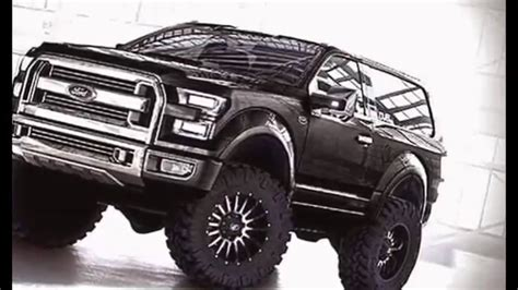2017 Ford Bronco Svt Raptor Specs Release Date And Price
