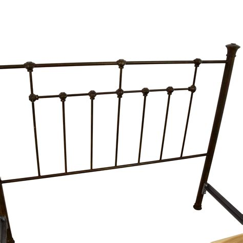 pottery barn iron bed 85 off pottery barn pottery barn queen iron bed frame