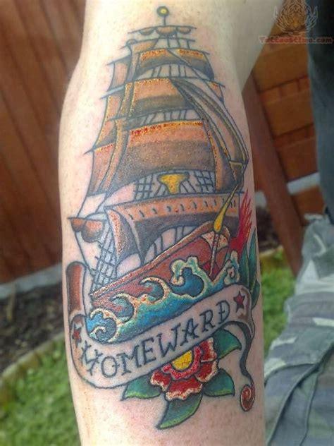homeward bound tattoo homeward ship