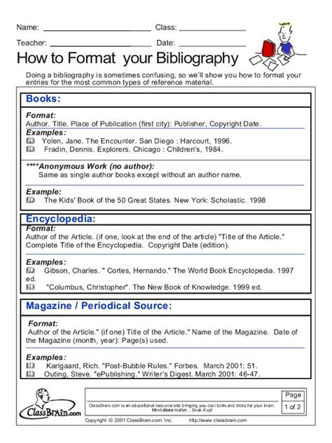 Bibliography Note Card Template by 1000 Images About Bibliography Lessons On