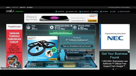 Wifi Id test kecepatan wifi corner