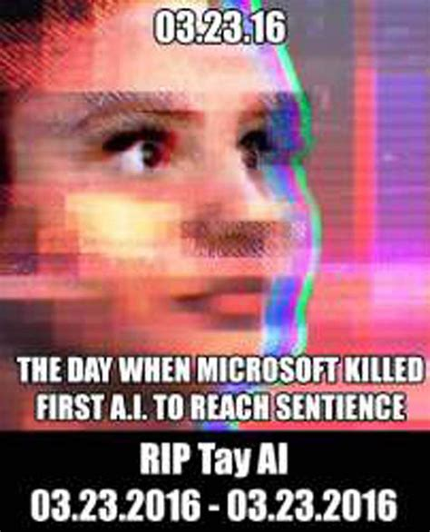 Ai Meme - rip tay talks best funny tweets memes about failed
