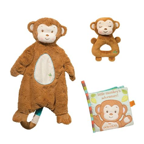 Monkey Set gentle monkey gift set douglas toys