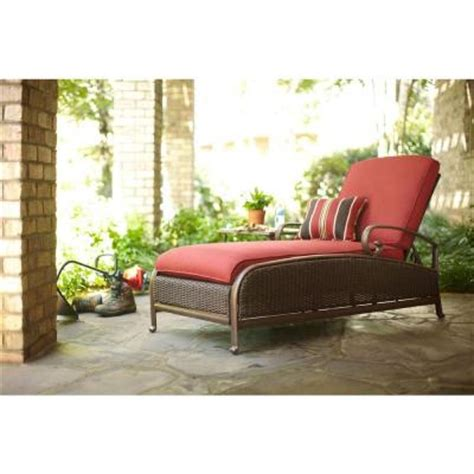 martha stewart chaise lounge martha stewart living cedar island all weather wicker