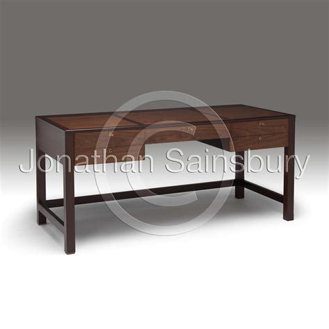 Walnut Desk Modern Contemporary Walnut Desk Jonathan Sainsbury