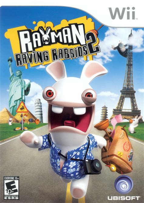 rayman raving rabbids   wii  mobygames