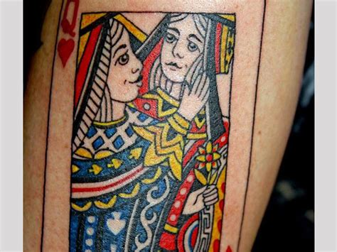 king card tattoo gallery of hearts meaning