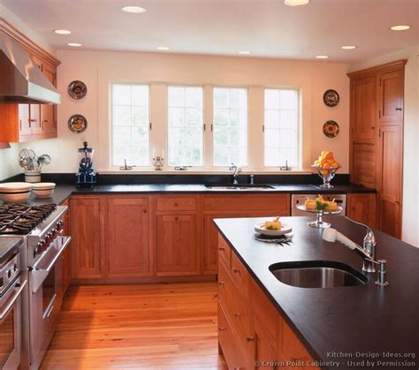 cherry cabinet kitchen designs shaker kitchen cabinets door styles designs and pictures
