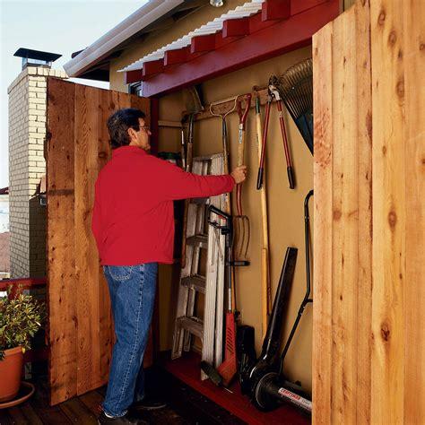 creative diy garden tool storage ideas gardening