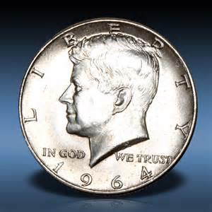 1964 kennedy half dollar silver atauction com