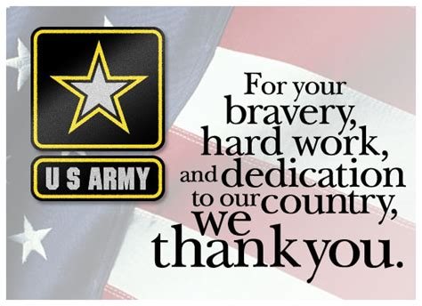 Happy Veterans Day To Army Soldier Free Greeting Card Template by Ways To Say Quot Thank You Quot On S Apron