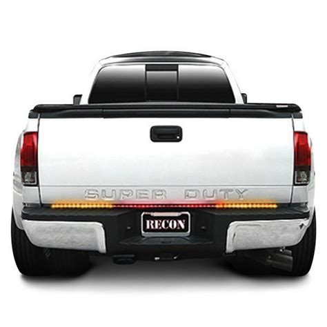 recon tailgate light bar recon 174 xtreme scanning led tailgate light bar