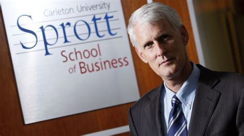 Sprott School Of Business Mba by Sprott S Jerry Tomberlin Becomes Interim Provost As Runte