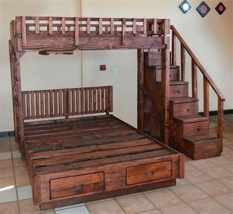 bunk bed queen on bottom best 25 queen size bunk beds ideas on pinterest full