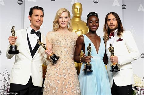 Oscar Nominees Speak Out On Their Nominations by Lupita Nyong O Criticizes Oscar Voters For Unconscious