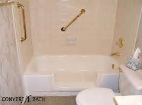 convert bath into shower walk in bath tubs amp showers alberni comfort zone port