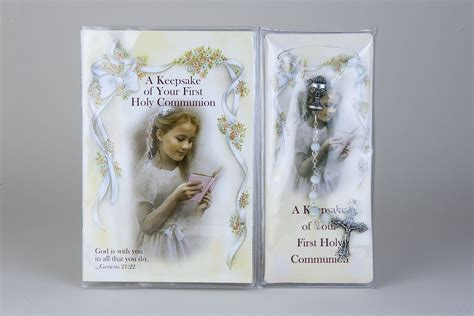 the before my communion books communion rosary with prayer book for