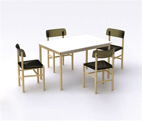 morrisons table and chairs jasper morrison trattoria chair and table