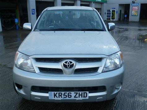 Used Toyota For Sale Uk Used Toyota Hilux Car 2006 Silver Diesel Hl3 Cab