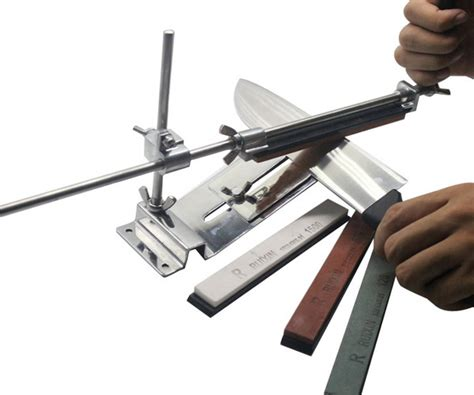 sharpening kitchen knives with a stone honana profession kitchen sharpening tool scissor knife