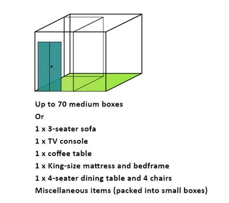 how large is 130 square feet ebc self storage pte ltd choose a size ebc self