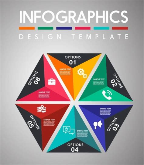 wallpaper abstrak segitiga tata letak warna warni segitiga desain elemen infographic