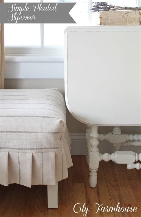 calico corners slipcovers a simple pleated slipcover and love city farmhouse