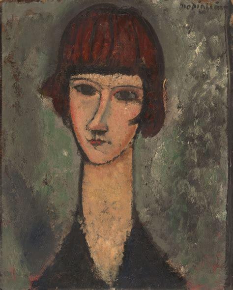 modigliani woman with a modigliani amedeo fine arts before 1945 the red list