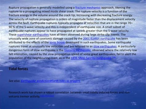 earthquake explanation earthquake an explanation text