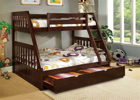 canberra walnut bunk bed from