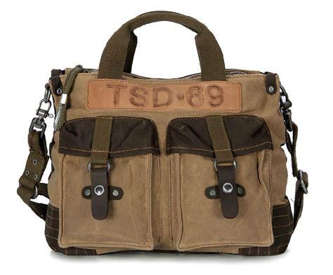 vintage canvas messenger bag mens canvas satchel bag yepbag