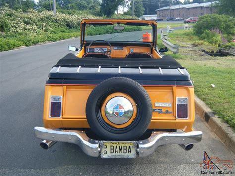 jeep commando custom 1968 custom jeepster commando convertible